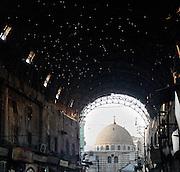Bab al-Jabiye from Souq Madhat Pasha (Straight Street) Damascus, Syria