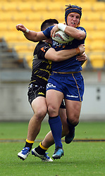Otago's Teihorangi Walden against Wellington in the Mitre 10 Rugby match at Westpac Stadium, Wellington, New Zealand, Sunday October 01,, 2017. Credit:SNPA / Ross Setford  **NO ARCHIVING**