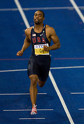 Tyson Gay of United States  winning the silver medal in the men's 100 Metres Final during day two of the 12th IAAF World Athletics Championships at the Olympic Stadium on August 16, 2009 in Berlin, Germany. (Photo by Vid Ponikvar / Sportida)