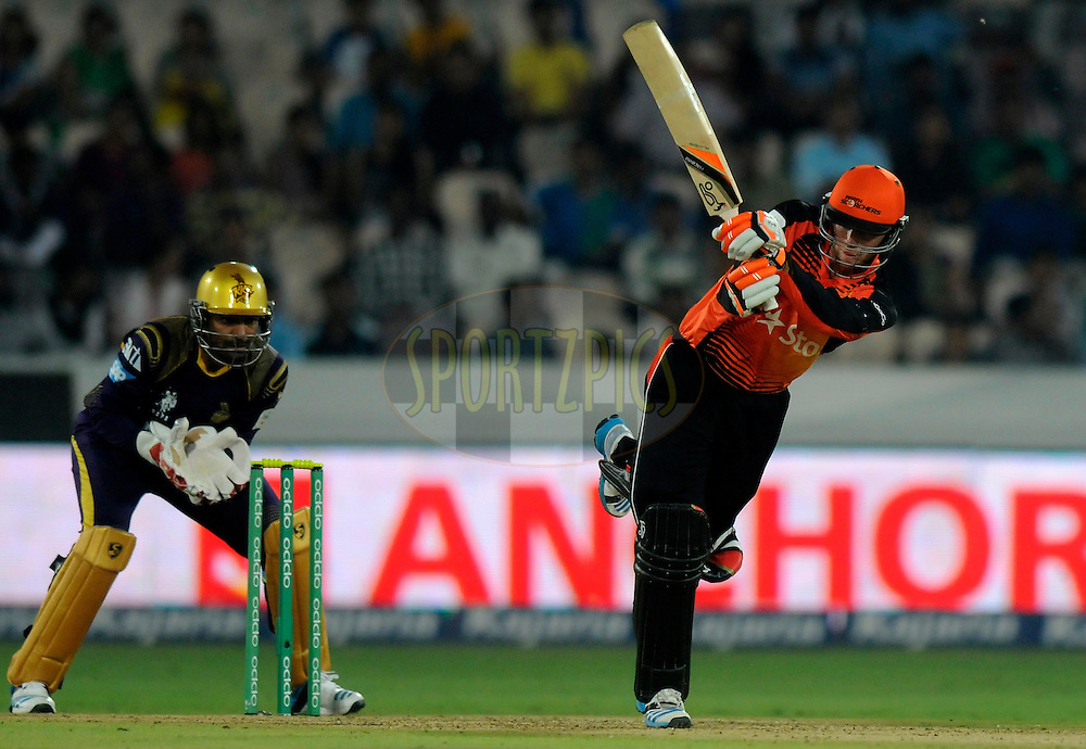 Sam Whiteman of Perth Scorchers bats during match 10 of the Oppo Champions League Twenty20 between the Kolkata Knight Riders and the Perth Scorchers held at the Rajiv Gandhi Cricket Stadium, Hyderabad, India on the 24th September 2014<br /> <br /> Photo by:  Pal Pillai / Sportzpics/ CLT20<br /> <br /> <br /> Image use is subject to the terms and conditions as laid out by the BCCI/ CLT20.  The terms and conditions can be downloaded here:<br /> <br /> http://sportzpics.photoshelter.com/gallery/CLT20-Image-Terms-and-Conditions-2014/G0000IfNJn535VPU/C0000QhhKadWcjYs