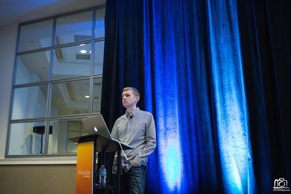 The Linux Foundation hosts its MesosCon North America summit at Hyatt Regency Denver Tech Center in Denver, Colorado, on June 1, 2016. (Stan Olszewski/SOSKIphoto)