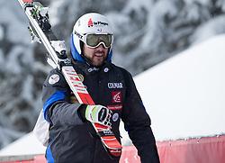 17.01.2017, Hahnenkamm, Kitzbühel, AUT, FIS Weltcup Ski Alpin, Kitzbuehel, Abfahrt, Herren, Streckenbesichtigung, im Bild Brice Roger (FRA) // Brice Roger of France during the course inspection for the men's downhill of FIS Ski Alpine World Cup at the Hahnenkamm in Kitzbühel, Austria on 2017/01/17. EXPA Pictures © 2017, PhotoCredit: EXPA/ Johann Groder