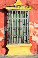 Mexique, Campeche, Champoton, Fenêtre // Mexico, Campeche, Champoton, Window