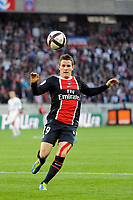 FOOTBALL - FRENCH CHAMPIONSHIP 2011/2012 - L1 - PARIS SAINT GERMAIN v DIJON FCO  - 23/10/2011 - PHOTO JEAN MARIE HERVIO / DPPI - KEVIN GAMEIRO (PSG)