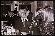 Alexander Chancellor, Grand Hotel Brighton, Referendum Party conference. Brighton. 2 October 1996.