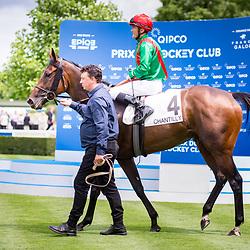 La Sardane (F. Blondel) wins Prix de Sandringham Gr. 2 in Chantilly, France, 04/06/2017 Photo: Zuzanna Lupa / Racingfotos.com