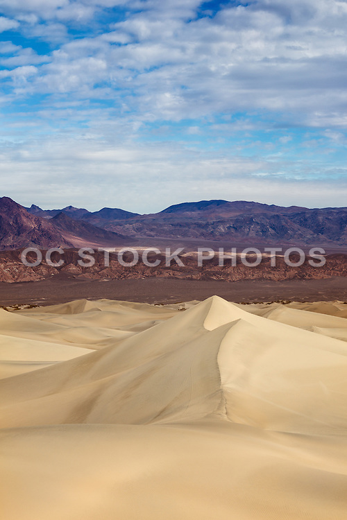 White Sand Dunes of Death Valley National Park