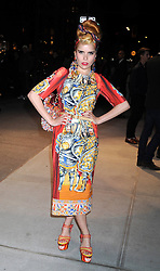 59603749 .Paloma Faith at the opening party of Dolce & Gabbana Flagship Store on the 5th Avenue New York, USA, May 04, 2013. Photo by: i-Images.UK ONLY