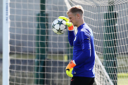 Joe Hart of Manchester City warms up - Mandatory by-line: Matt McNulty/JMP - 23/08/2016 - FOOTBALL - Manchester City - Training session ahead of Champions League qualifier against Steaua Bucharest