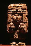 MEXICO, MEXICO CITY, MUSEUM Aztec;: statue of Centeocihuatl