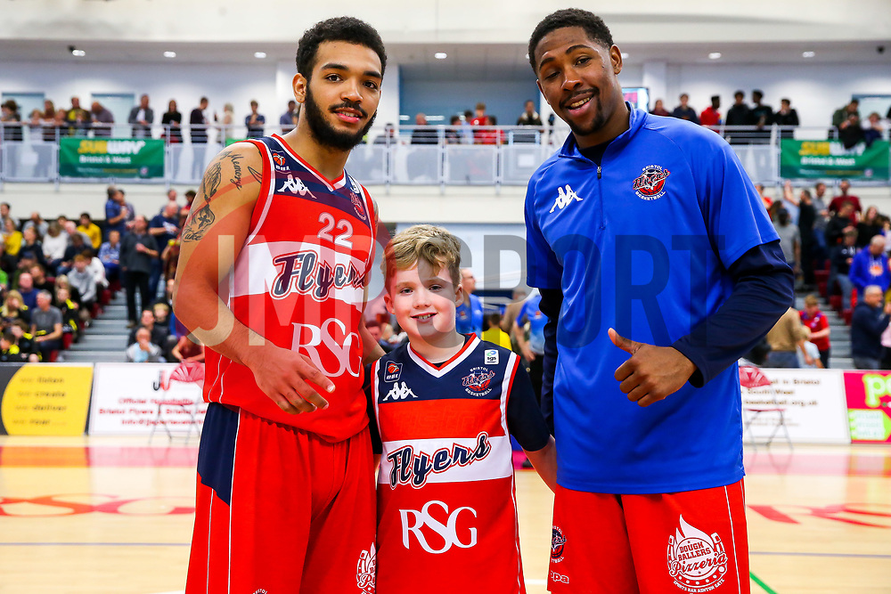 Half time photos - Rogan/JMP - 11/11/2017 - BASKETBALL - SGS Wise Arena - Bristol, England. - Bristol Flyers v Glasgow Rocks - British Basketball League.