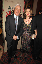 SIMON & JOYCE REUBEN at the Feast of Albion a sumptious locally-sourced banquet in aid of The Soil Association held at The Guildhall, City of London on 12th March 2008.<br />