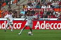 Milano, 3-10-04<br /> <br /> <br /> <br /> Campionato Serie A 2004-05<br /> <br /> <br /> <br /> Milan Reggina 3-1<br /> <br /> <br /> <br /> nella  foto Shunsuke Nakamura Reggina<br /> <br /> <br /> <br /> Foto Snapshot / Graffiti