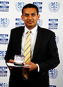 Most promising club coach of the year Prabhu Singh, Auckland rugby union awards dinner, Eden Park, Auckland. 28 October 2009. Photo: William Booth/PHOTOSPORT