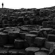 Giant's Causeway, North Antrim Coast, Northern Ireland. July 2005.