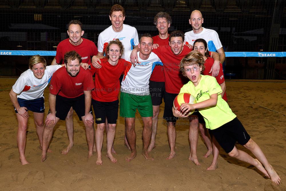 -5-02-2016 NED: BvdGF partner beachvolleybal toernooi 2016, Aalsmeer<br /> In de beach te Aalsmeer organiseerde de Bas van de Goor Foundation het beach event voor haar partners