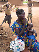 Gulu, Uganda, 2004. Pabbo Internally Displaced Persons camp. The camp's population is increasing to about 50,000.