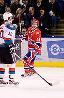 KELOWNA, CANADA, DECEMBER 27:  at the Kelowna Rockets on December 7, 2011 at Prospera Place in Kelowna, British Columbia, Canada (Photo by Marissa Baecker/Getty Images) *** Local Caption ***