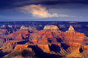 06 SEPTEMBER 2002 - GRAND CANYON NATIONAL PARK, ARIZONA, USA: Clouds drift over the Grand Canyon National Park in northern Arizona, Sept. 6, 2002. .PHOTO BY JACK KURTZ