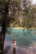 Italy, Trentino province , Lago di Tenno