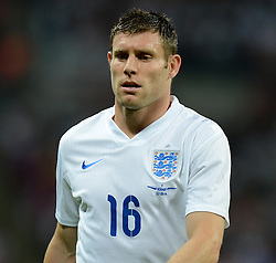 England's James Milner (Manchester City) - Photo mandatory by-line: Alex James/JMP - Mobile: 07966 386802 - 3/09/14 - SPORT - FOOTBALL - London - Wembley Stadium - England v Norway - International Friendly