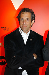 A party hosted by Mario Testino, Bianca Jagger and Kenneth Cole in collaboration with UNFPA and Marie Stopes International to celebrate the publication of Women to Woman: Positively Speaking - a book to raise awareness of women living with HIV/Aids, held at The Orangery, Kensington Palace, London on 2nd December 2004.<br />Picture shows  designer KENNETH COLE.<br /><br />NON EXCLUSIVE - WORLD RIGHTS