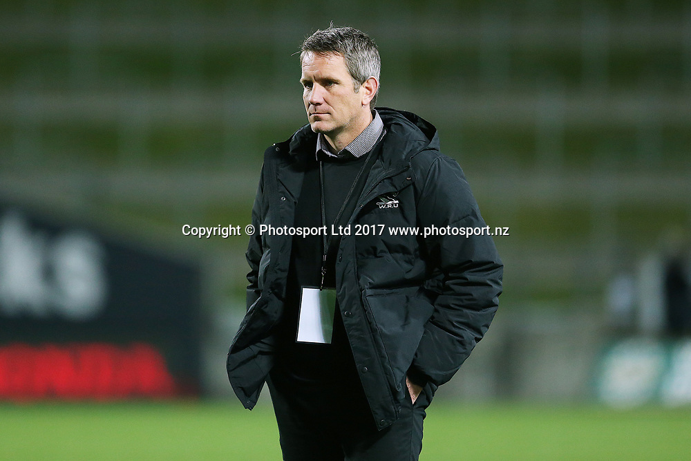 Waikato Head Coach Sean Botherway ahead of the Mitre 10 Cup Rugby match - Waikato v Counties played at FMG Stadium Waikato, Hamilton, New Zealand on Friday 25 August 2017.  Copyright photo: © Bruce Lim / www.photosport.nz