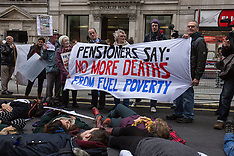 28 Nov. 2014 - Fuel Poverty Action march to demand No more deaths from fuel poverty.
