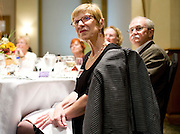 Carole Fowkes looks on during the Democratic Party of Collin County's annual Ann Richards Dinner at the Marriott Legacy Town Center in Plano, Texas on July 2, 2013. (Cooper Neill / for The Texas Tribune)