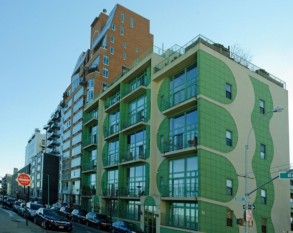 Lotus Condominiums, 2 Bayard Street, Williamsburg, Brooklyn, New York City, New York, USA