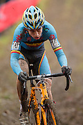 BELGIUM / NAMEN / NAMUR / CYCLING / WIELRENNEN / CYCLISME / CYCLOCROSS / CYCLO-CROSS / VELDRIJDEN / WERELDBEKER / WORLD CUP / COUPE DU MONDE / U23 / WOUT VAN AERT (BEL) /