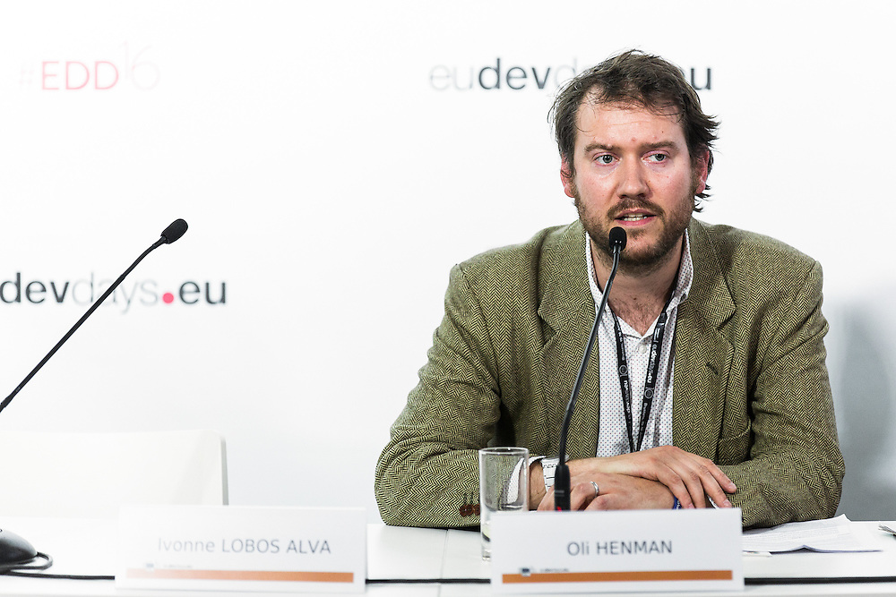 20160616 - Brussels , Belgium - 2016 June 16th - European Development Days - EMPOWERing vulnerable land users to become agents of a transformative 2030 Agenda - Oli Henman , European Representative , CIVICUS Europe © European Union