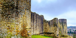 Exterior of Barnard Castle in the town of that name in Teesdale, County Durham, England.<br /> <br /> (c) Andrew Wilson | Edinburgh Elite media