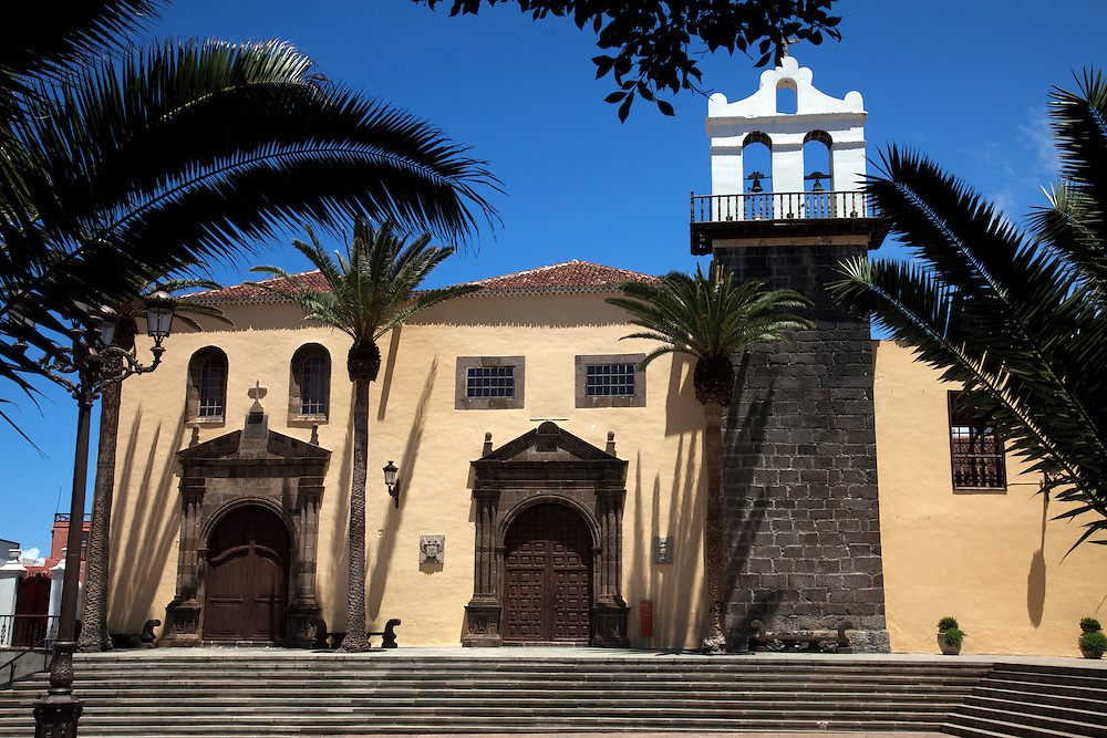 Santa Ana Church, Garachico, North Tenerife.