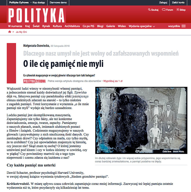 publication in Polityca