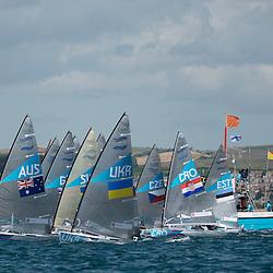 2012 Olympic Games London / Weymouth<br /> <br /> Finn practice race