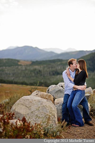 Park City Engagement Photography.  Images by Destination Wedding Photographer Michelle Turner.