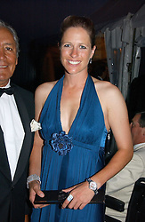 TAMARA VESTEY at the Cowdray Gold Cup Golden Jubilee Ball held at Cowdray Park Polo Club, on 21st July 2006.<br /><br />NON EXCLUSIVE - WORLD RIGHTS