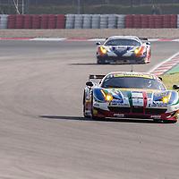 #81 Ferrari 458 Italia, AF Corse driven by Piergusieppe Perazzini, Marco Cioci, FIA WEC, 6Hrs Nurburgring, 2015