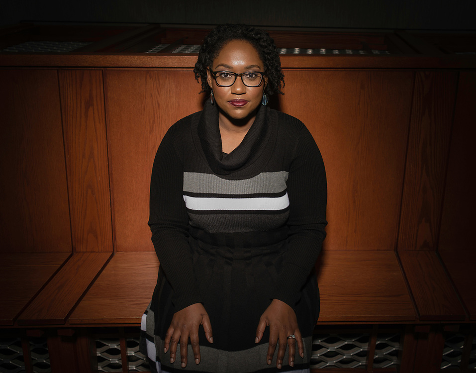 WASHINGTON, DC -- 12/5/16 -- Marcia Chatelain is an Associate Professor of History at Georgetown. She has spurred the development of the syllabus as a tool for social justice.…by André Chung #_AC25181