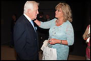 SIR BENJAMIN SLADE; MARILYN GALSWORTHY, Masterpiece London 2014 Preview. The Royal Hospital, Chelsea. London. 25 June 2014.