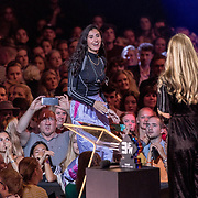 NLD/Amsterdam/20180905- Uitreiking 3FM Awards 2018, Naaz  krijgt de award voor Beste Video