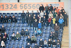 South stand. <br /> Falkirk 2 v 1 Brechin City, Scottish Cup fifth round game played today at The Falkirk Stadium.