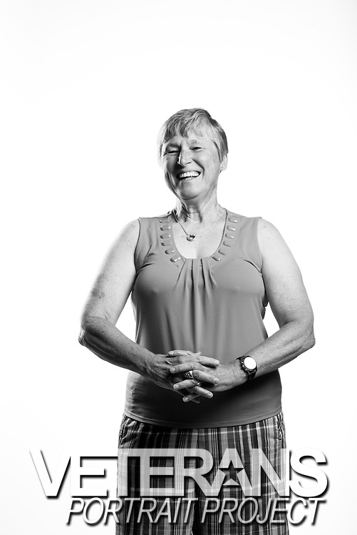 Geraldine Morgan<br /> Army<br /> O-3<br /> Nurse<br /> Aug. 1967 - Mar. 1971<br /> Vietnam<br /> <br /> Veterans Portrait Project<br /> Phoenix, AZ