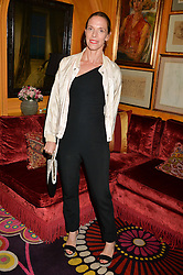 TIPHAINE DE LUSSY at a dinner to celebrate the launch of Genetic - Liberty Ross hosted by Liberty Ross and Ali Fatourechi at Annabel's, 44 Berkeley Square, London on 3rd September 2014.