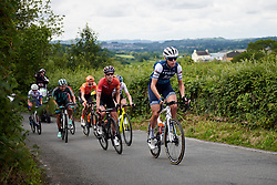 Ellen van Dijk (NED) on Bethlehem Hill climb during Stage 6 of 2019 OVO Women's Tour, a 125.9 km road race from Carmarthen to Pembrey, United Kingdom on June 15, 2019. Photo by Sean Robinson/velofocus.com