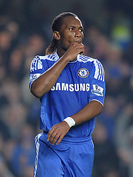 20.11.2011, Stamford Bridge Stadion, London, ENG, PL, FC Chelsea vs FC Liverpool, 12. Spieltag, im Bild Chelsea's Didier Drogba reacts during the football match of English premier league, 12th round, between FC Chelsea and FC Liverpool at Stamford Bridge Stadium, London, United Kingdom on 20/11/2011. EXPA Pictures © 2011, PhotoCredit: EXPA/ Sportida/ Chris Brunskill..***** ATTENTION - OUT OF ENG, GBR, UK *****