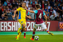 Benjamin Morel of NK Domzale during 2nd Leg football match between West Ham United FC and NK Domzale in 3rd Qualifying Round of UEFA Europa league 2016/17 Qualifications, on August 4, 2016 in London, England.  Photo by Ziga Zupan / Sportida