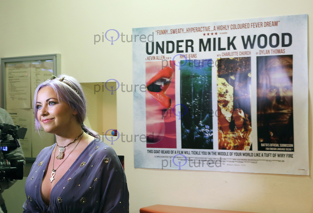 Charlotte Church, Under Milk Wood - UK film premiere, Rio Cinema, London UK, 25 October 2015, Photo by Richard Goldschmidt