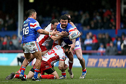 Wakefield Trinity's David Fifita in action during the Betfred Super League match at Belle Vue, Wakefield.